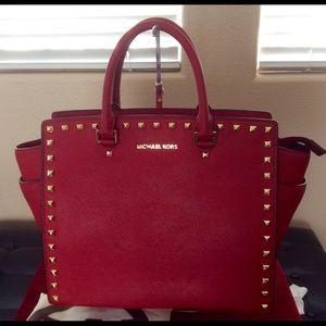 Michael Kors Red Bag